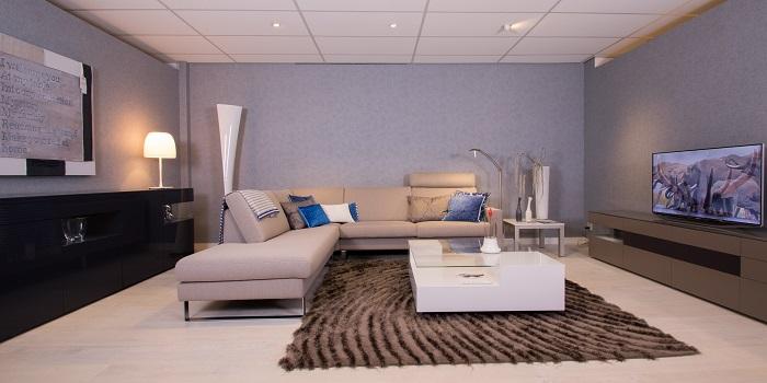 Hoekbanken kooijman interieurs - Woonkamer beneden meubeldesign ...