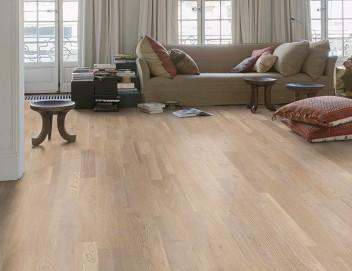 Een houten vloer maakt van ieder huis een prachtig paleis