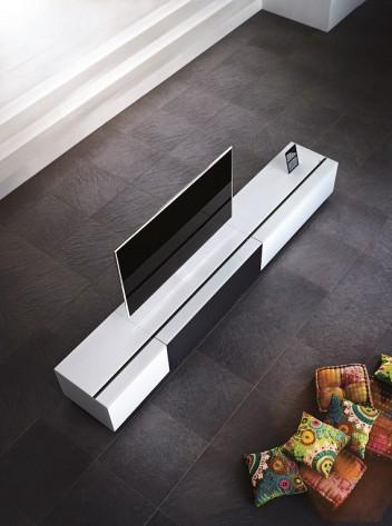 hoogglans wit tv meubel