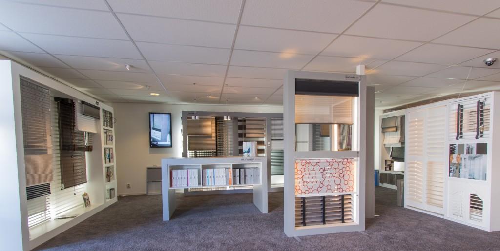 Luxaflex raamdecoratie afdeling