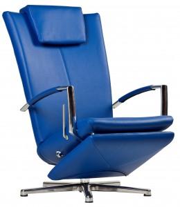Relaxfauteuil blauw